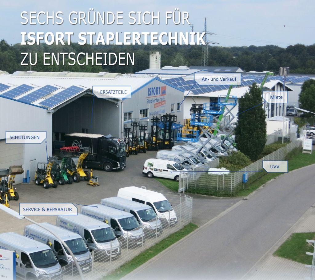 Genie-GS 4390 RT-Scherenarbeitsbühne -www.isfort.com