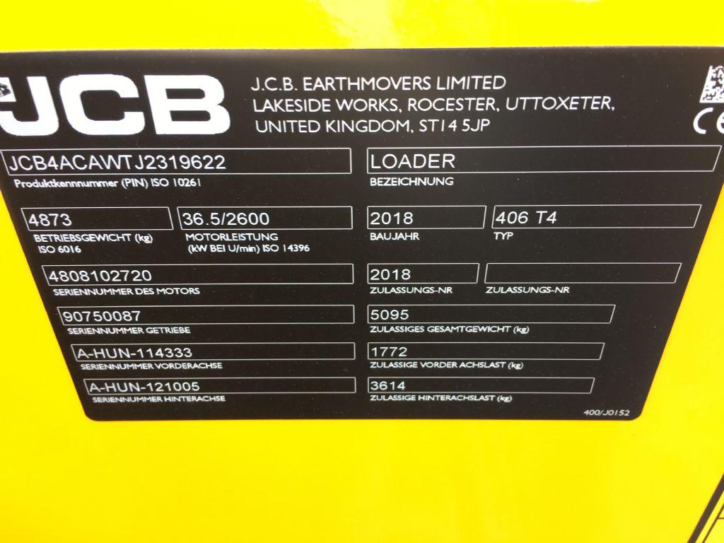 JCB-406 T4-Radlader -www.isfort.com