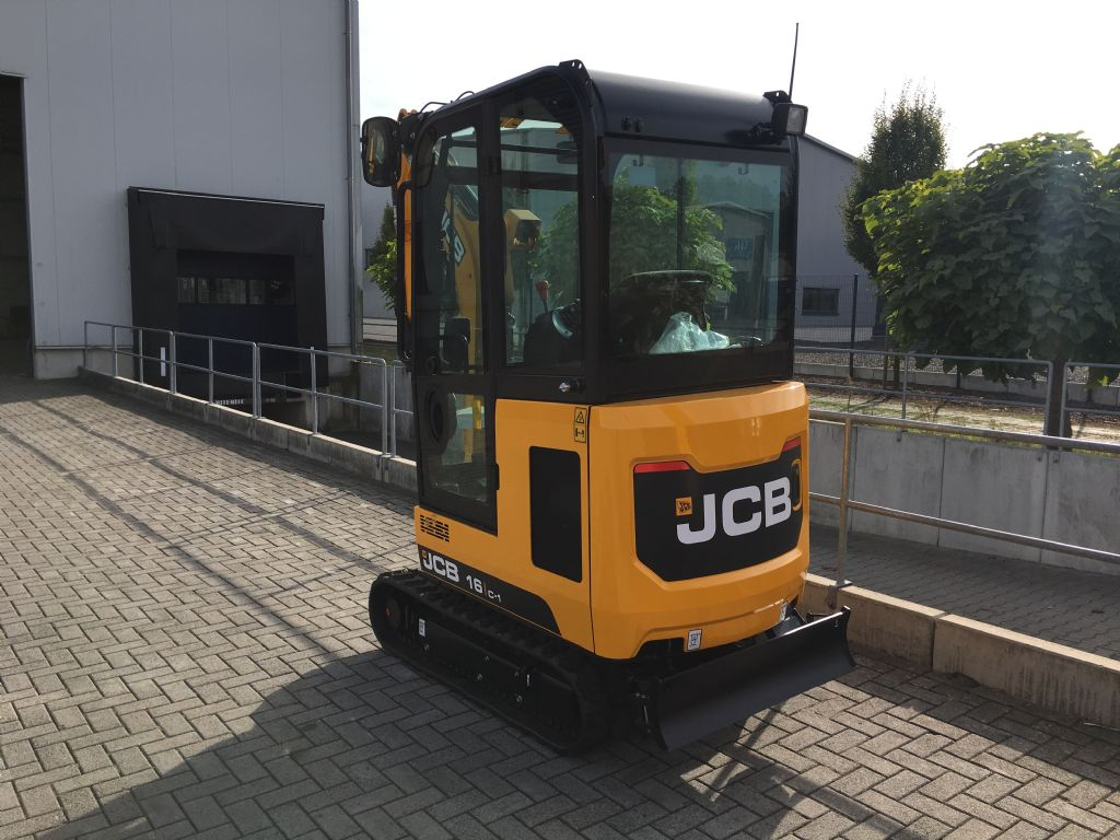 JCB-16 C-Minibagger -www.isfort.com