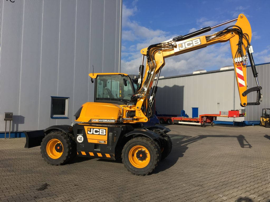 JCB-Hydradig 110W T 4F-Baggerlader -www.isfort.com