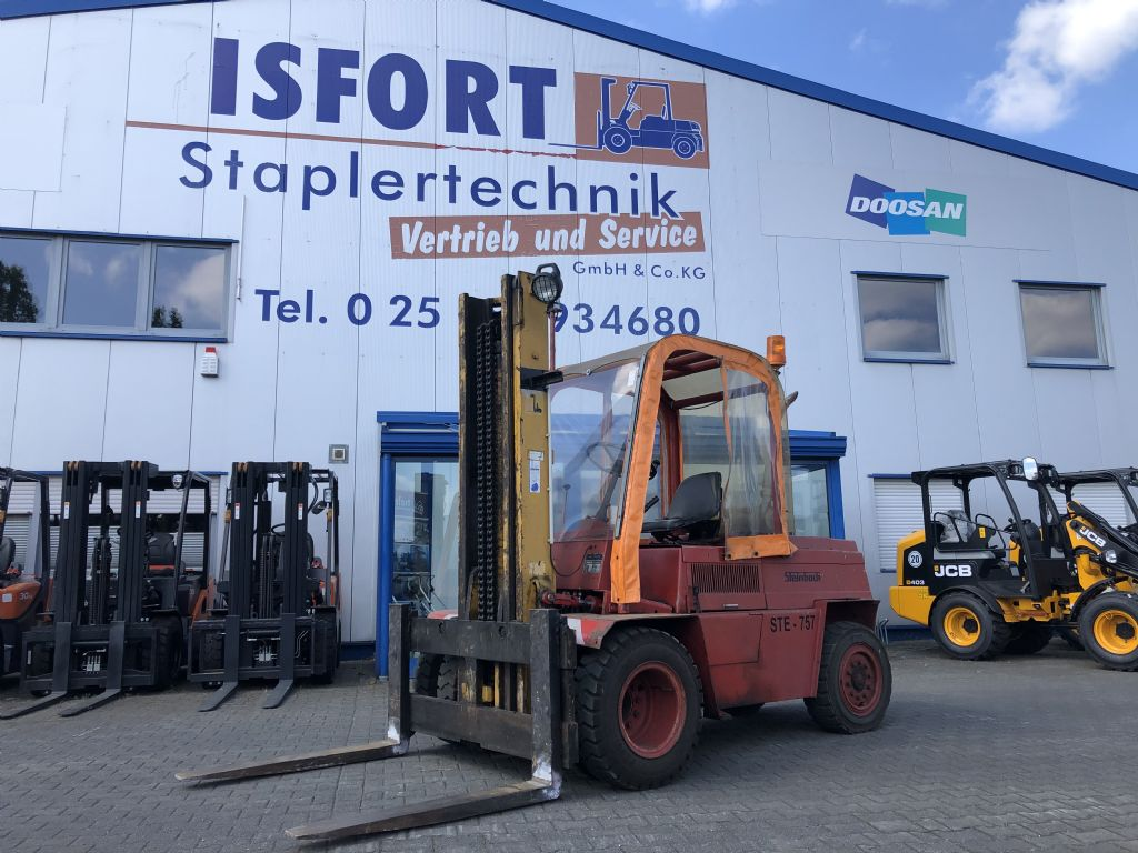Steinbock-DFG 5 D-Dieselstapler -www.isfort.com