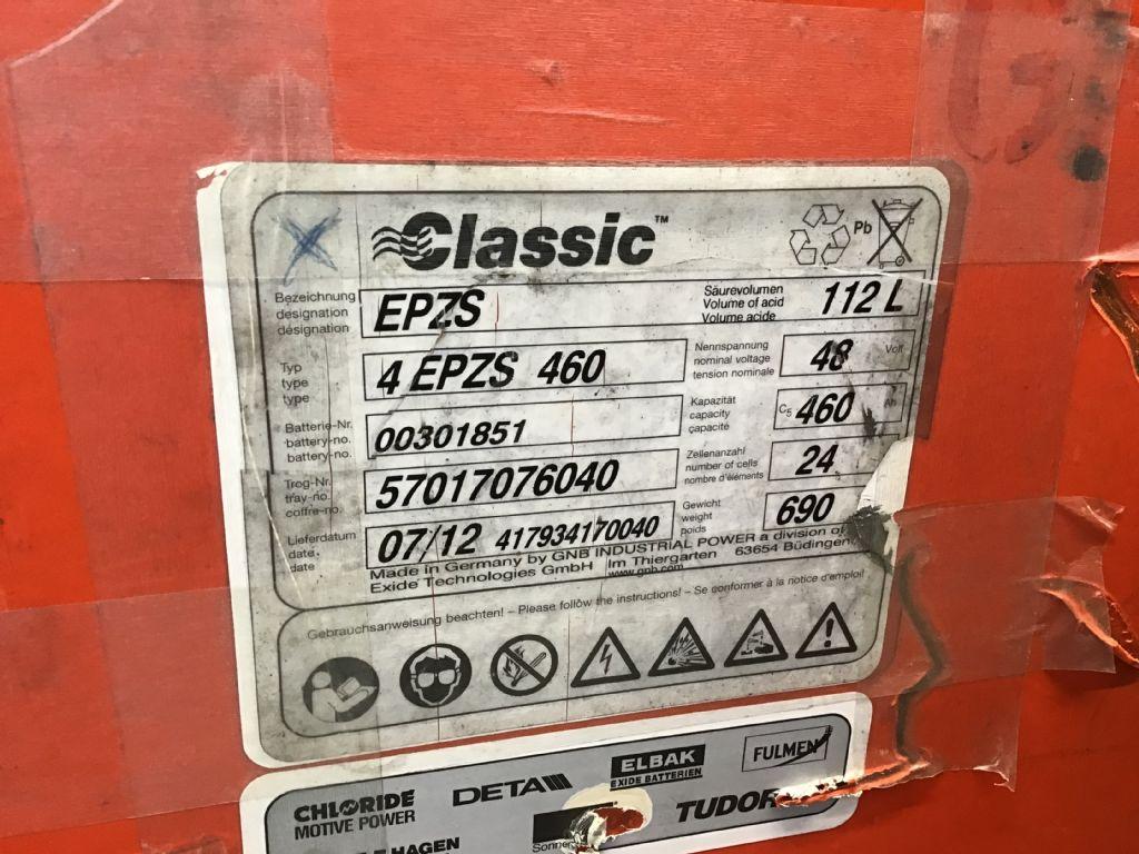 Linde-E16C-Elektro 3 Rad-Stapler -www.isfort.com