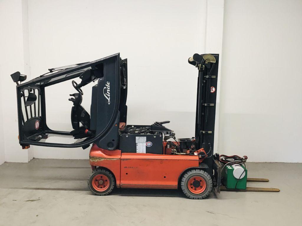 Linde-E16P-02-Elektro 4 Rad-Stapler -www.isfort.com