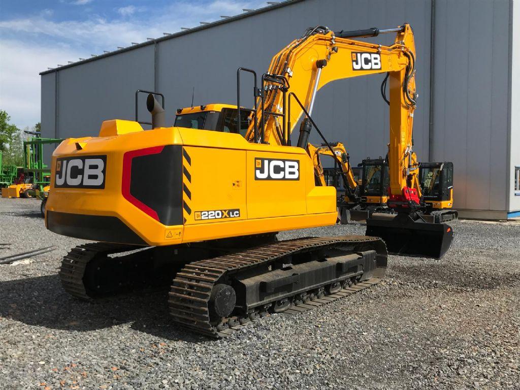 JCB-220 X-Kettenbagger -www.isfort.com