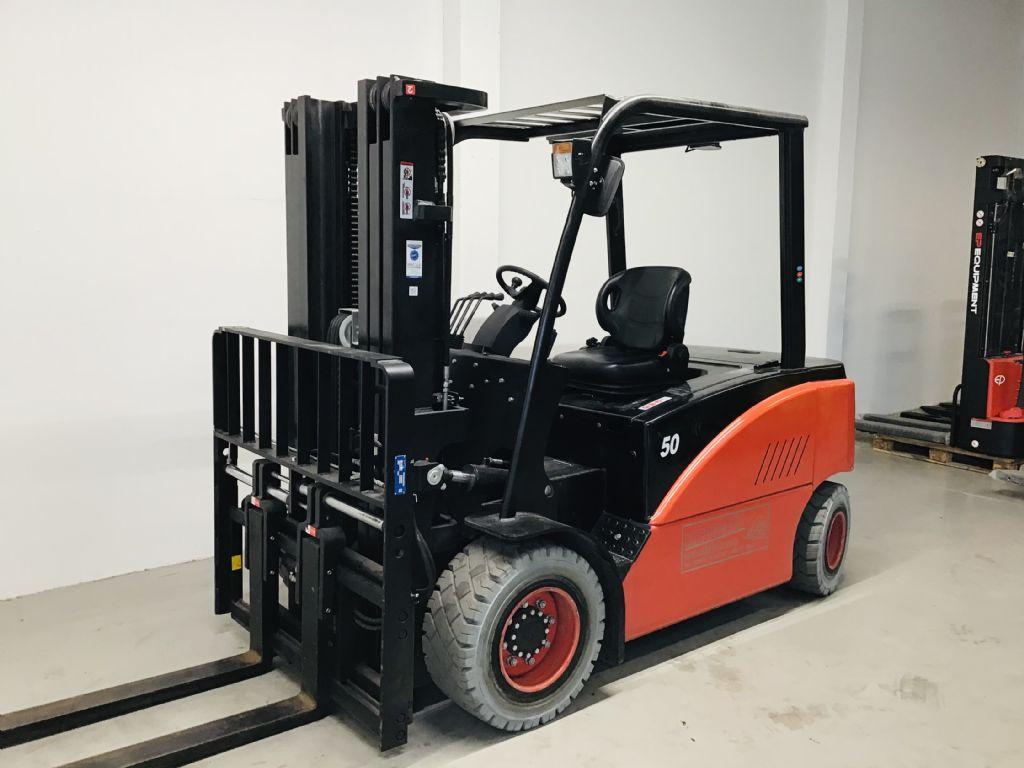 EP CPD50F8 - Li-ion Batterie  Electric 4-wheel forklift www.isfort.com