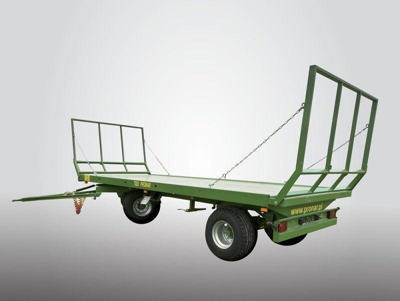 Pronar Ballentransportwagen T025M Industrieanhänger www.hanselmann.de
