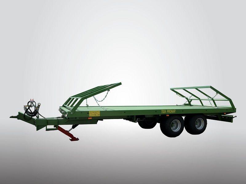 Pronar Ballentransportwagen T024M Industrieanhänger www.hanselmann.de