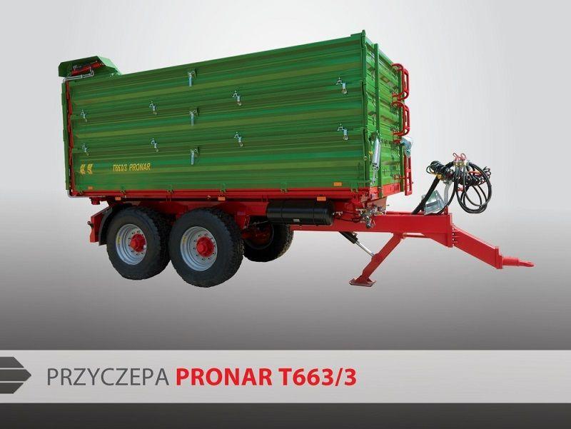 Pronar Tandemkipper T663/3 Industrieanhänger www.isfort.com