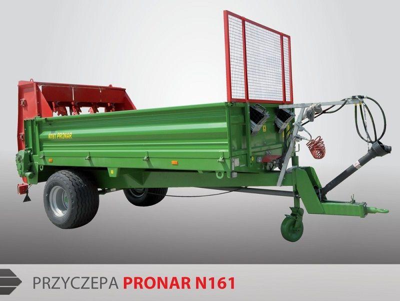 Pronar Miststreuer N161 8t Industrieanhänger www.hanselmann.de