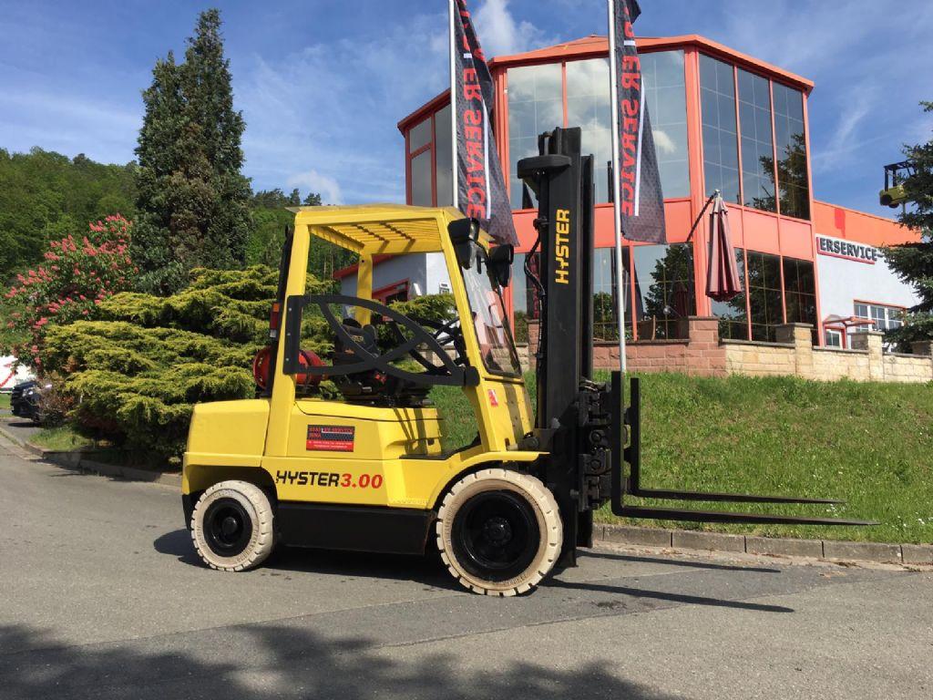 Hyster H 3.00 XM Treibgasstapler www.staplerjena.de