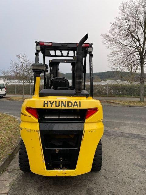 Hyundai 45D-9 Dieselstapler www.staplerjena.de