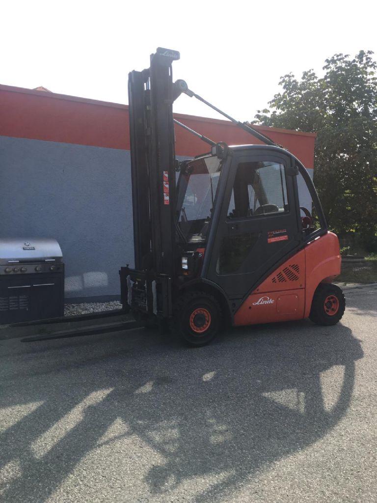 Linde H 25 T 01 Treibgasstapler www.staplerjena.de