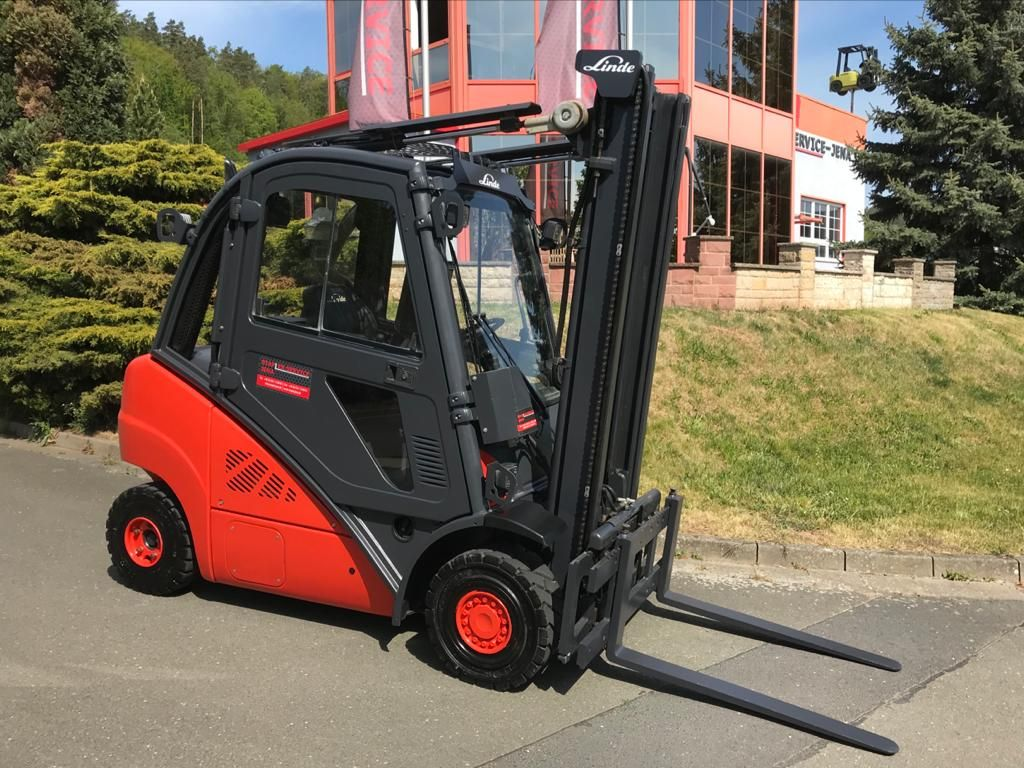 Linde H 25 D 02 Dieselstapler www.staplerjena.de