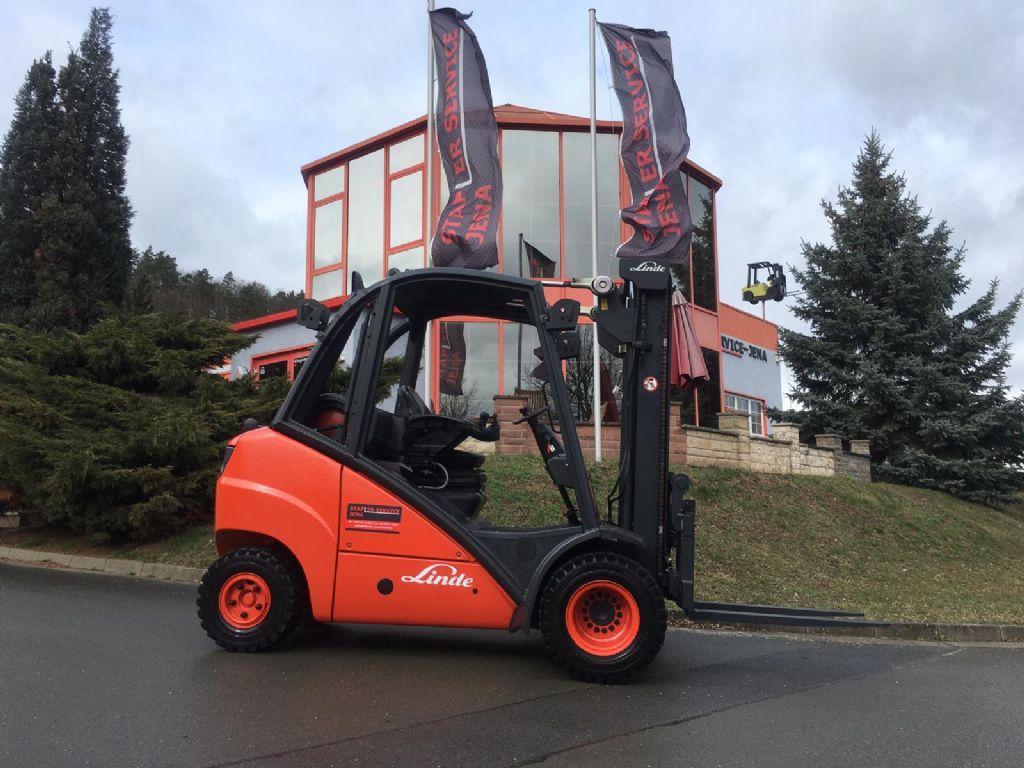 Linde H 30 T 393 Treibgasstapler www.staplerjena.de