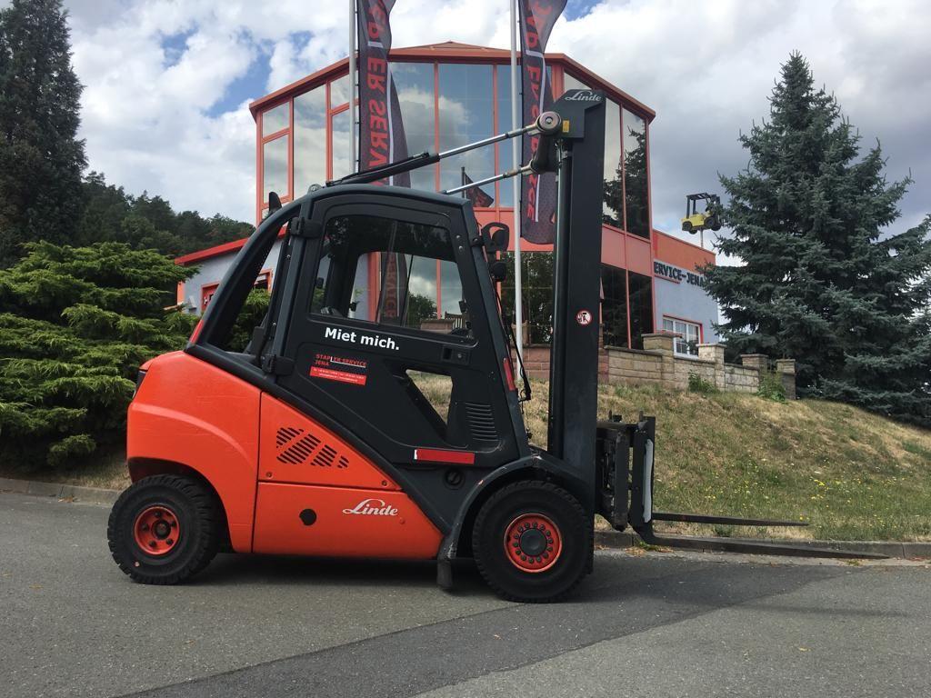 Linde H 30 D 393 Dieselstapler www.staplerjena.de