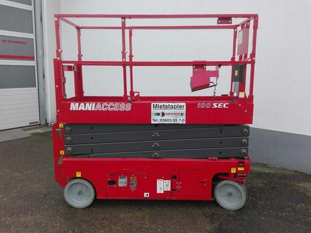 Manitou-Maniaccess 100 SEC-Scherenarbeitsbühne www.kirchner-gabelstapler.de