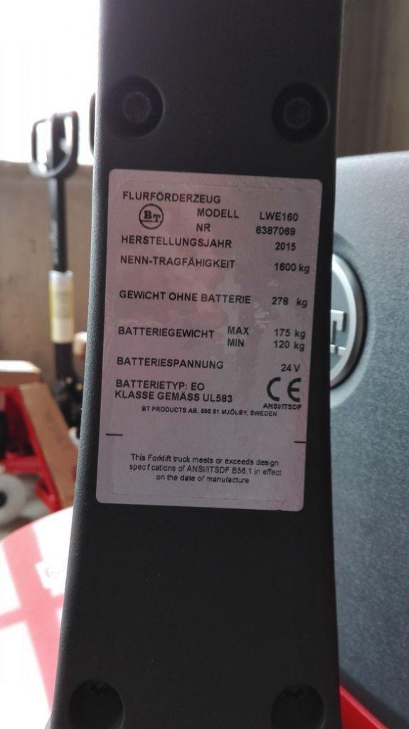 BT-LWE160-Niederhubwagen www.kirchner-gabelstapler.de