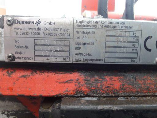 Durwen-DPK30C-Doppelpalettengabel www.kirchner-gabelstapler.de