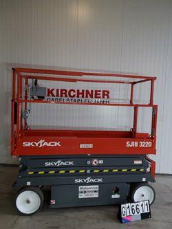 Skyjack-SJIII 3220-Scherenarbeitsbühne www.kirchner-gabelstapler.de
