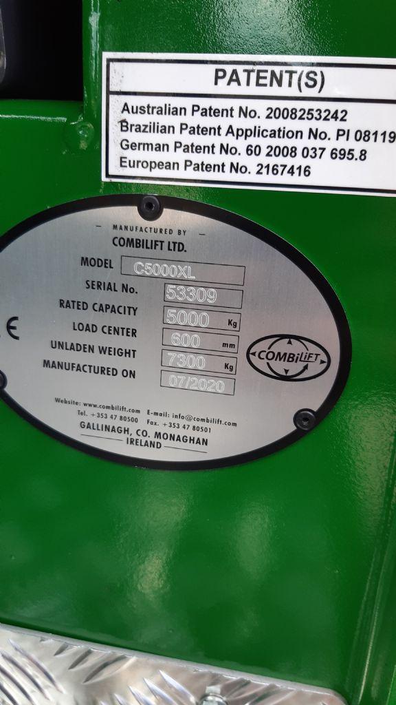 Combilift-C5000XL/12/55TR-Vierwege Seitenstapler www.kirchner-gabelstapler.de