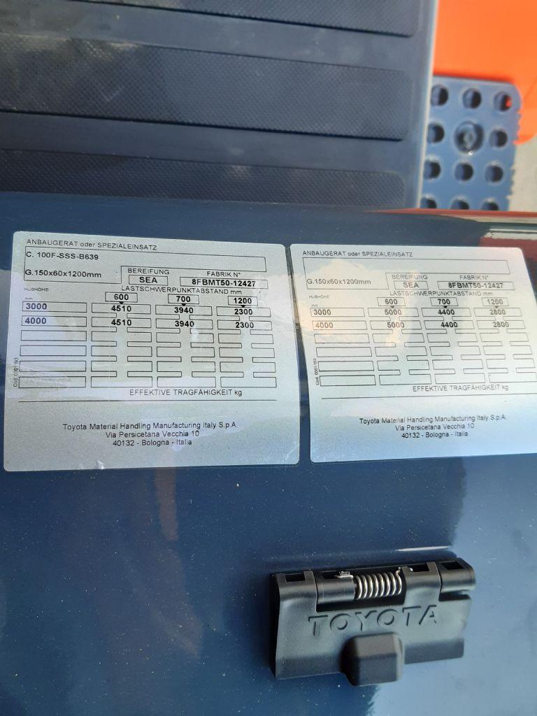 Toyota-8FBMT50-Elektro 4 Rad-Stapler www.kirchner-gabelstapler.de