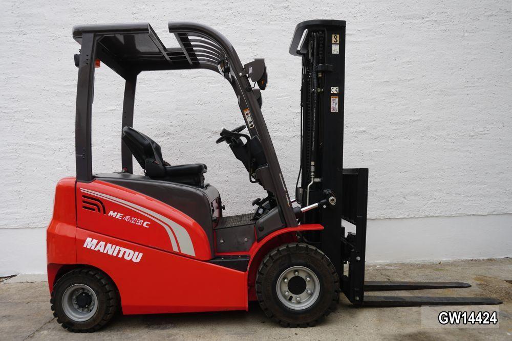 Manitou-ME 425C-Elektro 4 Rad-Stapler www.kirchner-gabelstapler.de