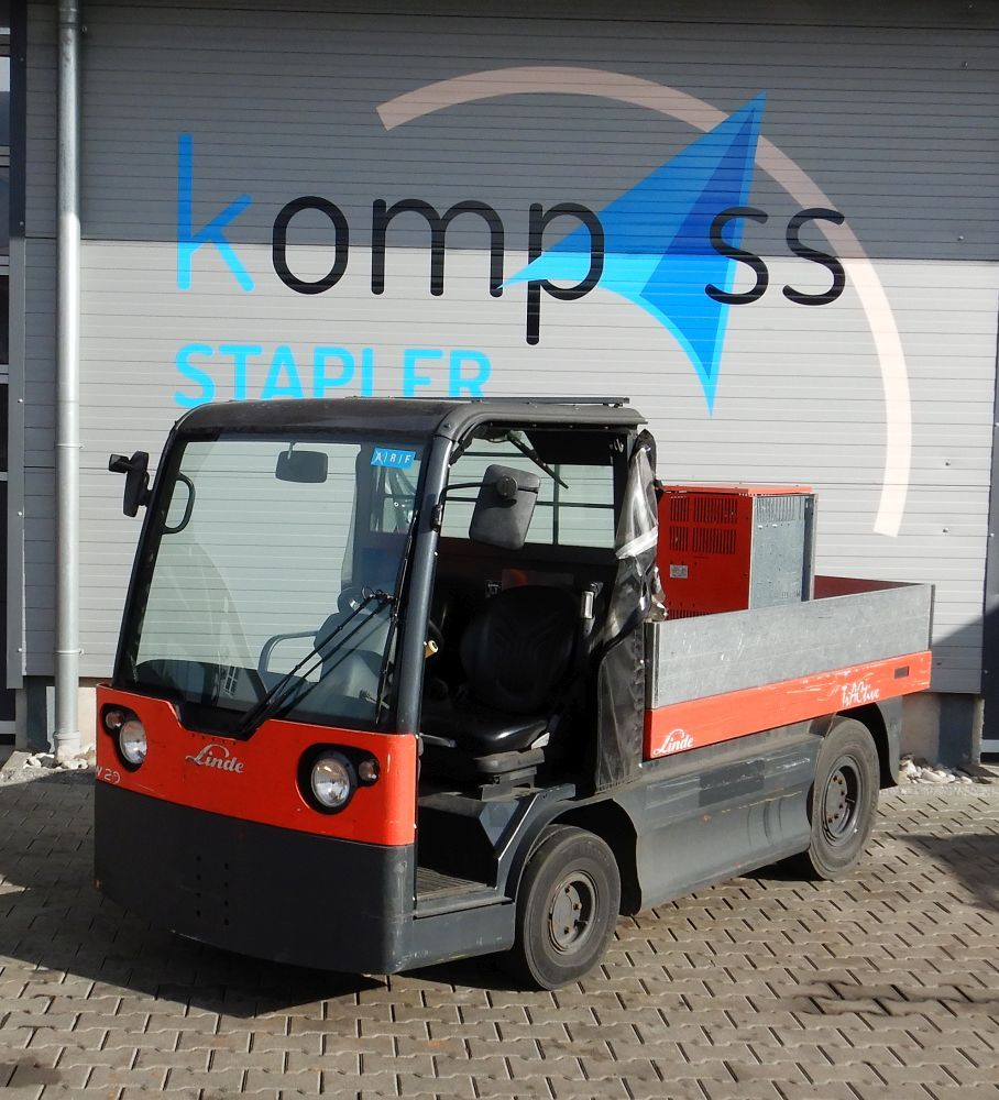 Linde W 20/127 Electric platform trucks www.kompass-stapler.de