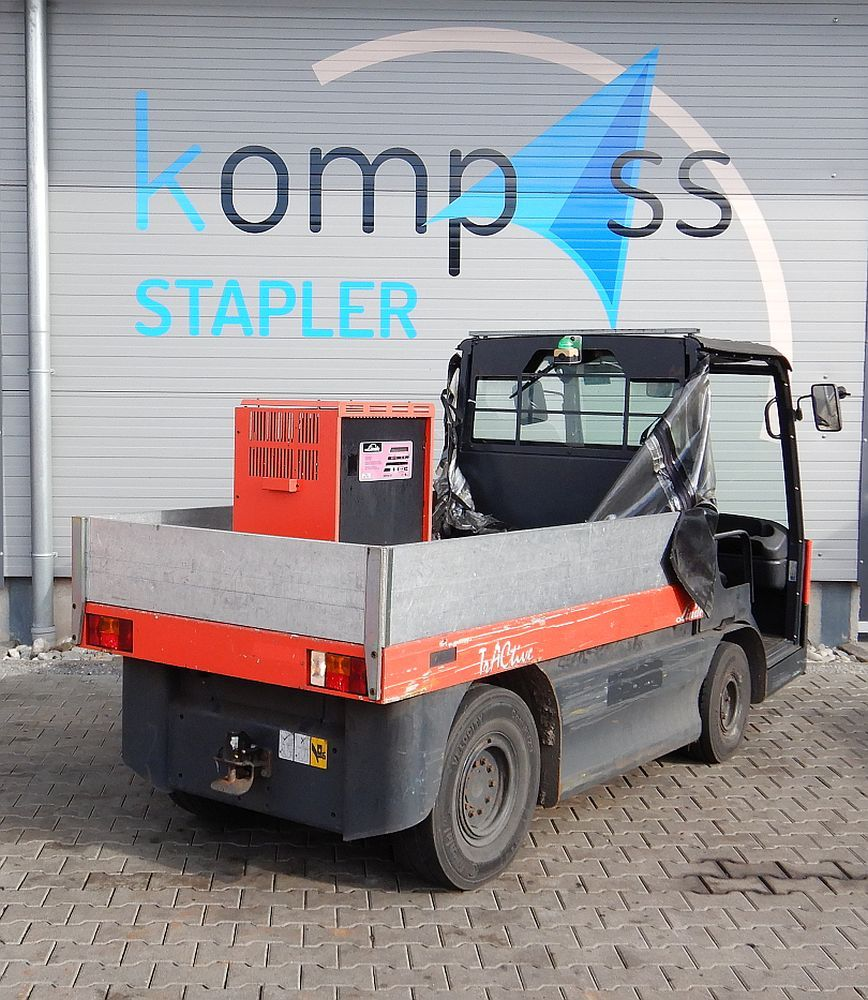 Linde W 20/127 Elektro Plattformwagen www.kompass-stapler.de