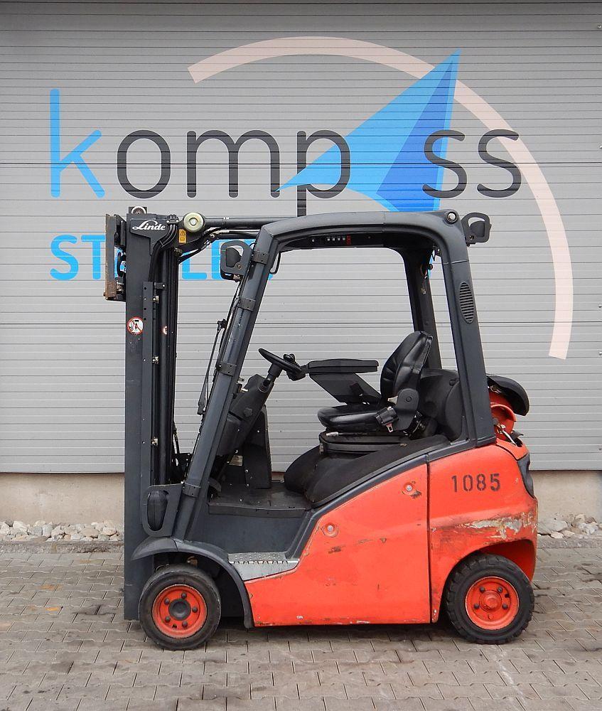 Linde H 16 T/391 Treibgasstapler www.kompass-stapler.de