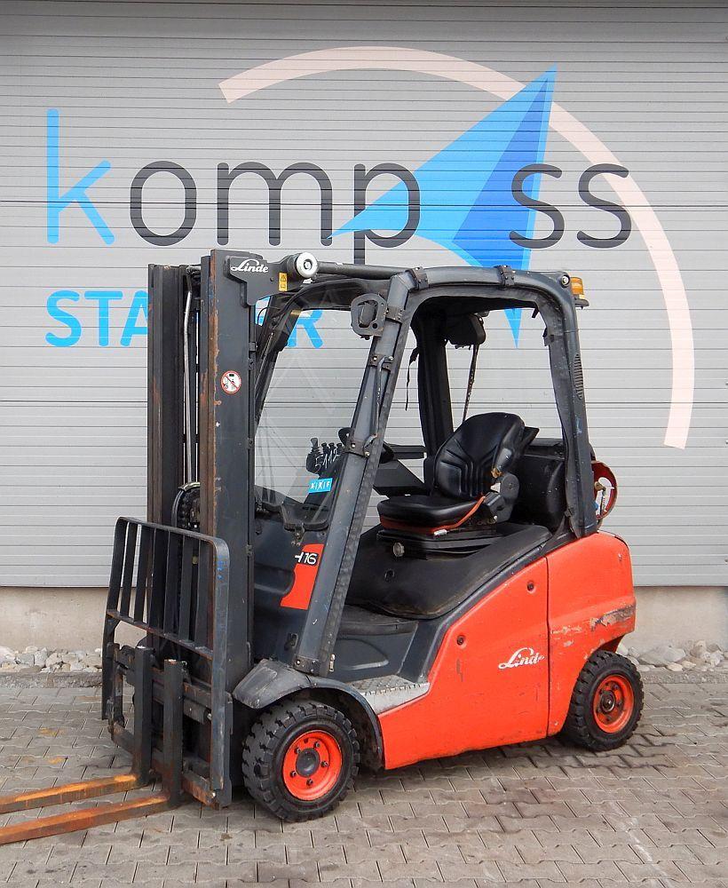 Linde H 16 T/391 LPG Forklifts www.kompass-stapler.de