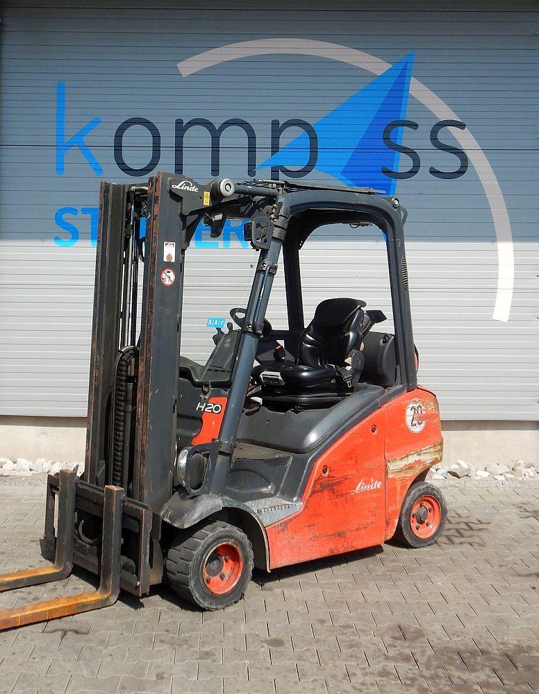 Linde H 20 T/391 Treibgasstapler www.kompass-stapler.de