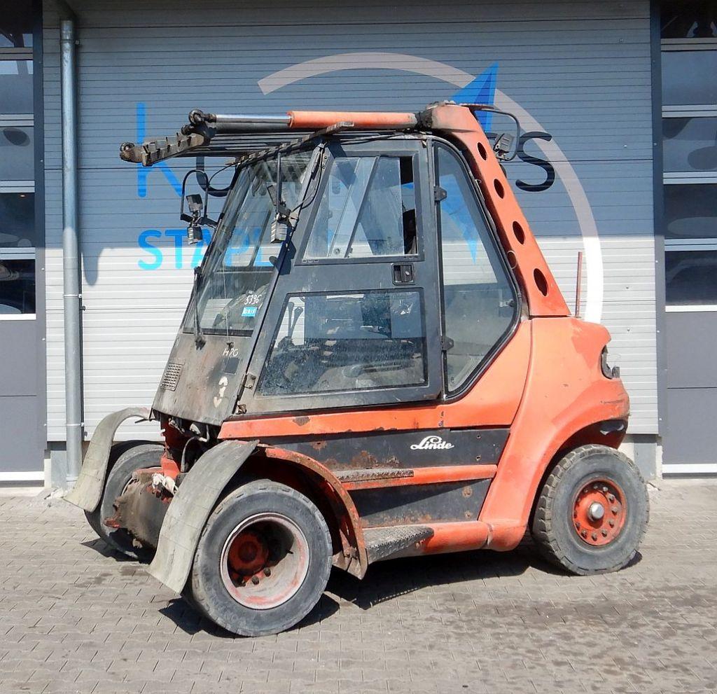 Linde H 70 D/353 Frontale Diesel  www.kompass-stapler.de