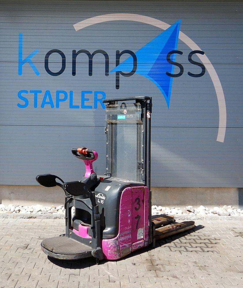 Linde L 16 AP/372 High Lift stacker www.kompass-stapler.de