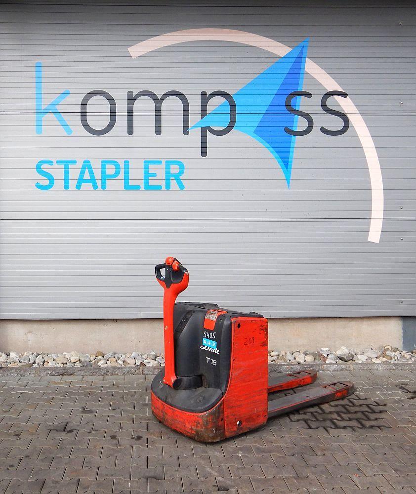 Linde T 18/1152 Electric Pallet Truck www.kompass-stapler.de