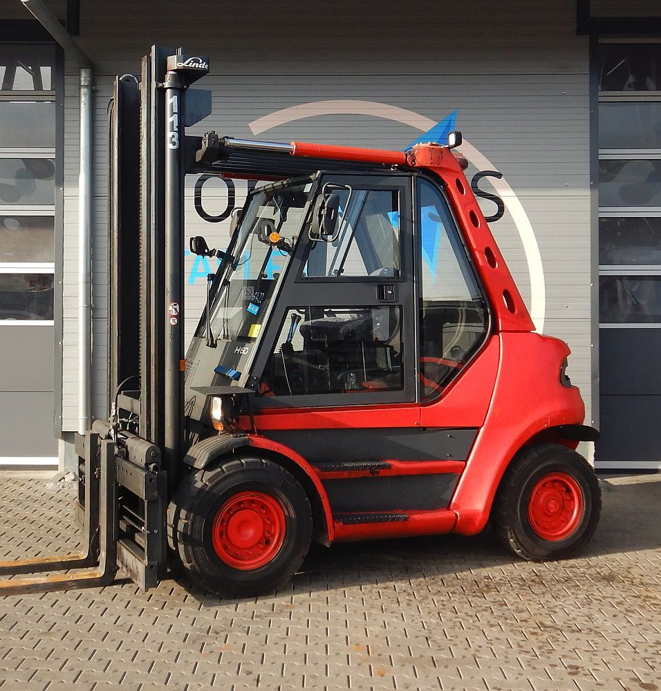 Linde H 60 D/353 Diesel Forklift www.kompass-stapler.de