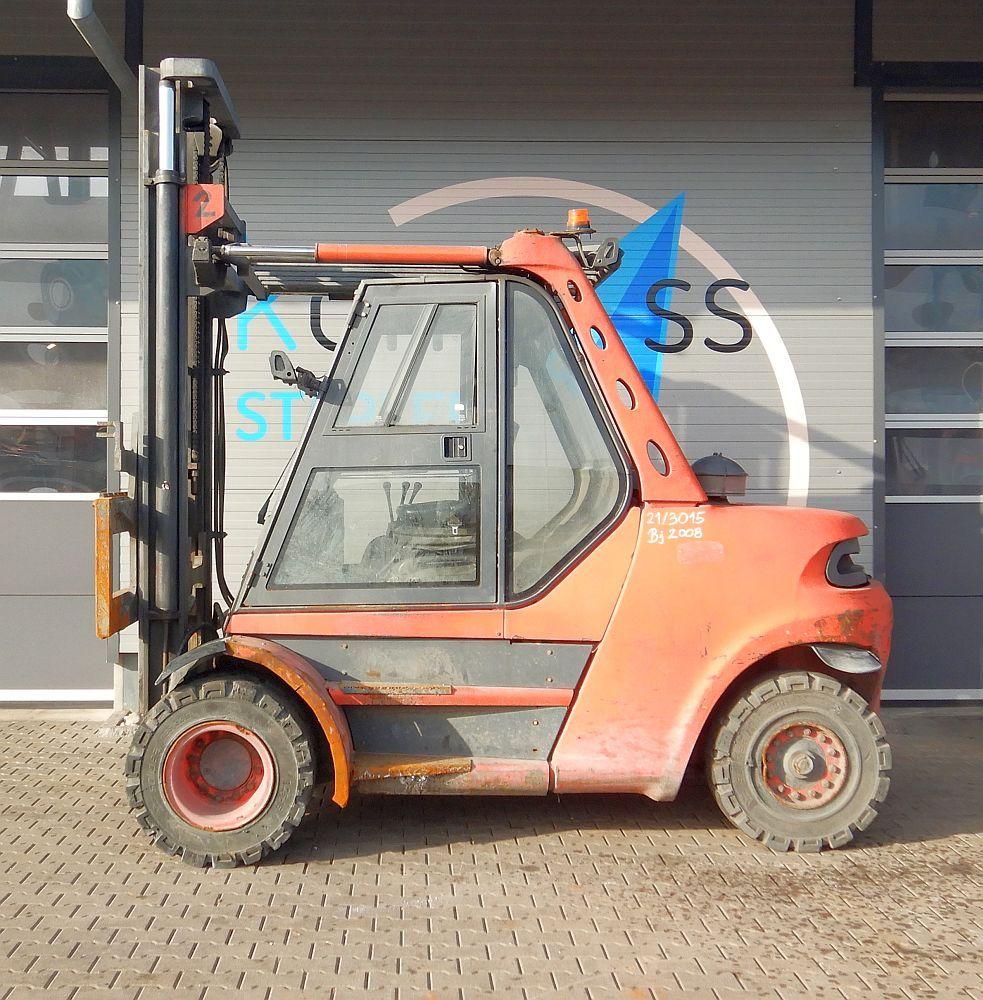 Linde H 80 D/900/353 Dieselstapler www.kompass-stapler.de