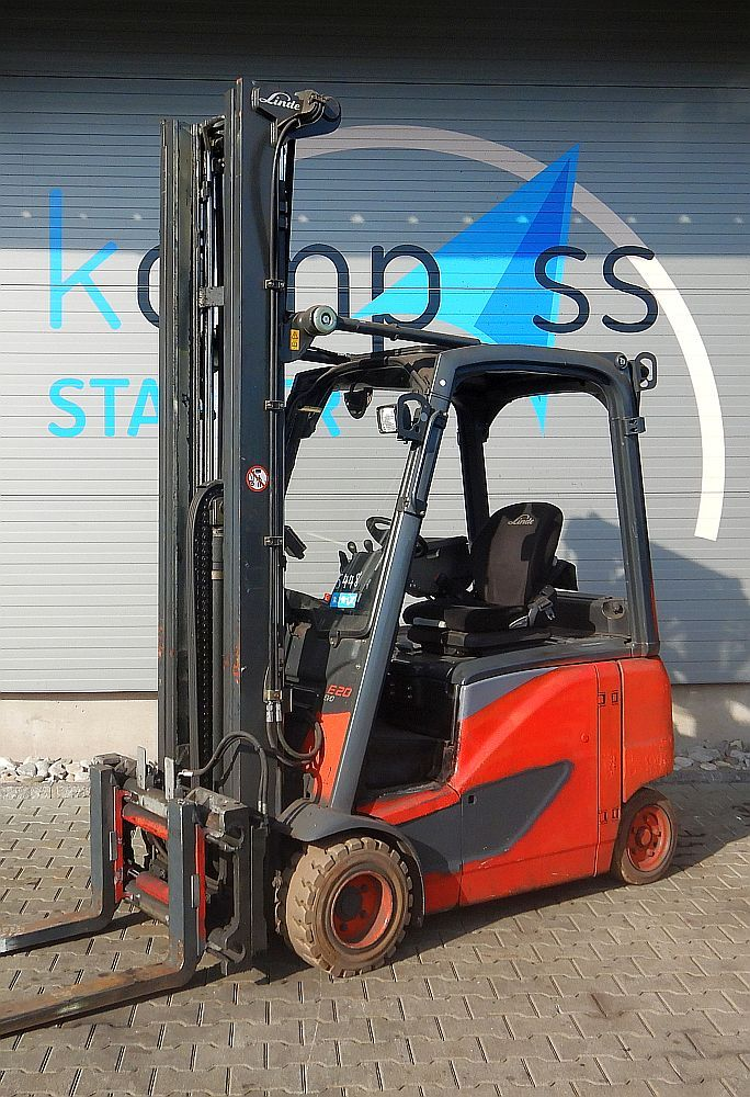Linde E 20 PH/386 Elektro 4 Rad-Stapler www.kompass-stapler.de