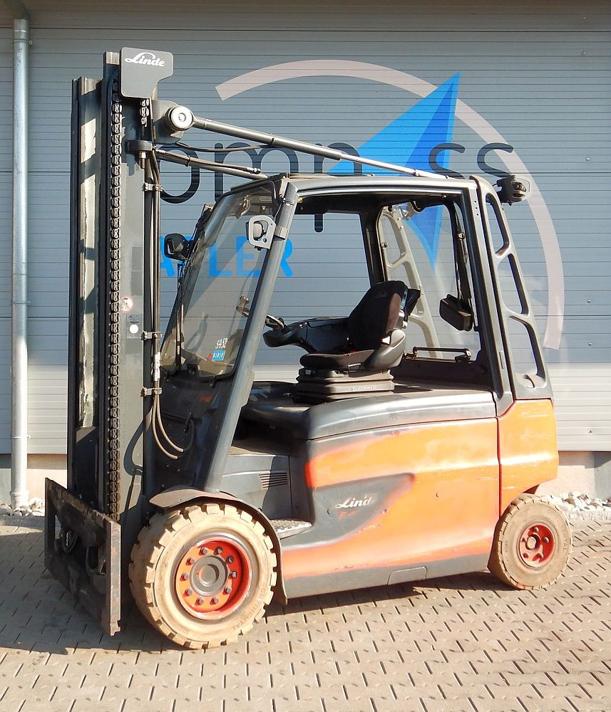 Linde E 40/600HL/388 Electric 4-wheel forklift www.kompass-stapler.de