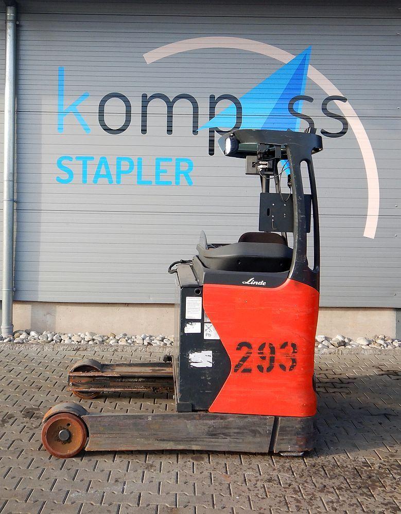 Linde R 16 HD/112 Schubmaststapler www.kompass-stapler.de