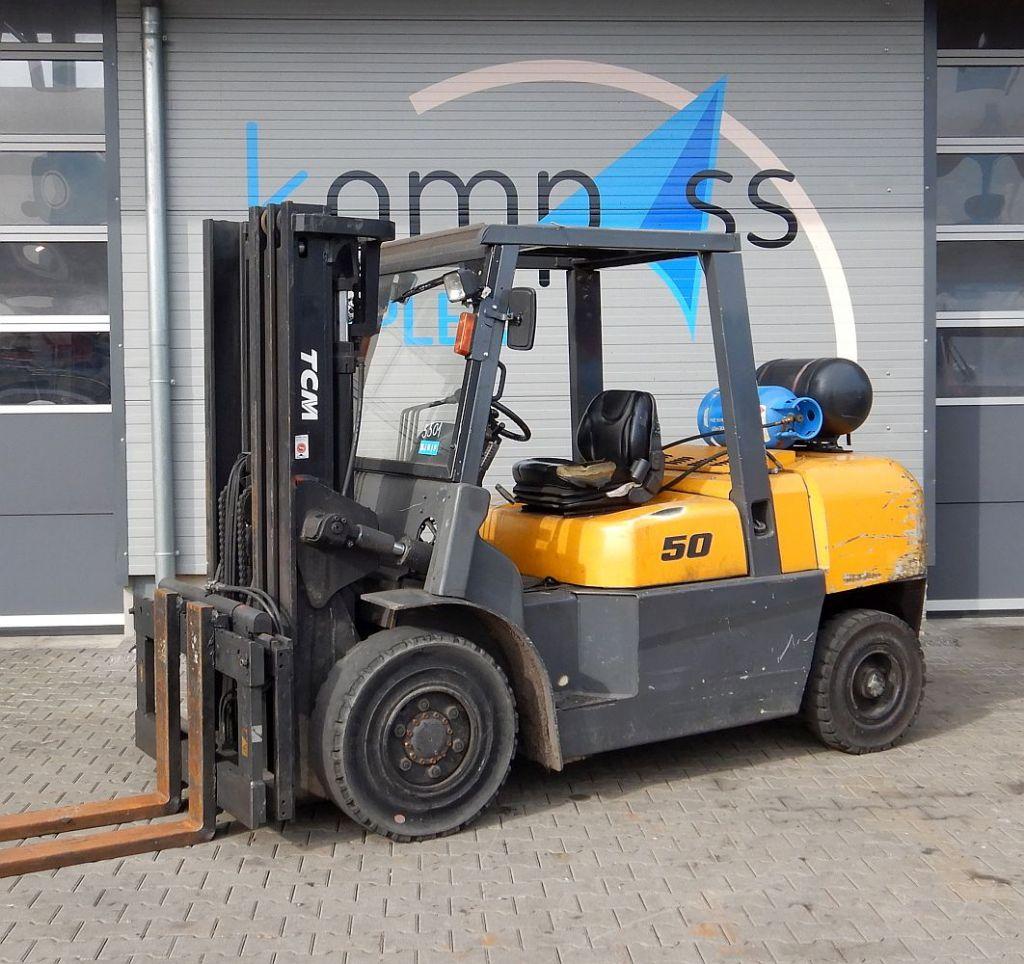 TCM TCM FG 50 T LPG Forklifts www.kompass-stapler.de