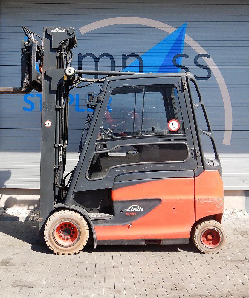 Linde E 30 HL/600/387 Elektro 4 Rad-Stapler www.kompass-stapler.de