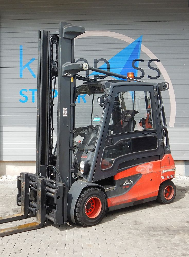 Linde E 35 L/387 Electric 4-wheel forklift www.kompass-stapler.de