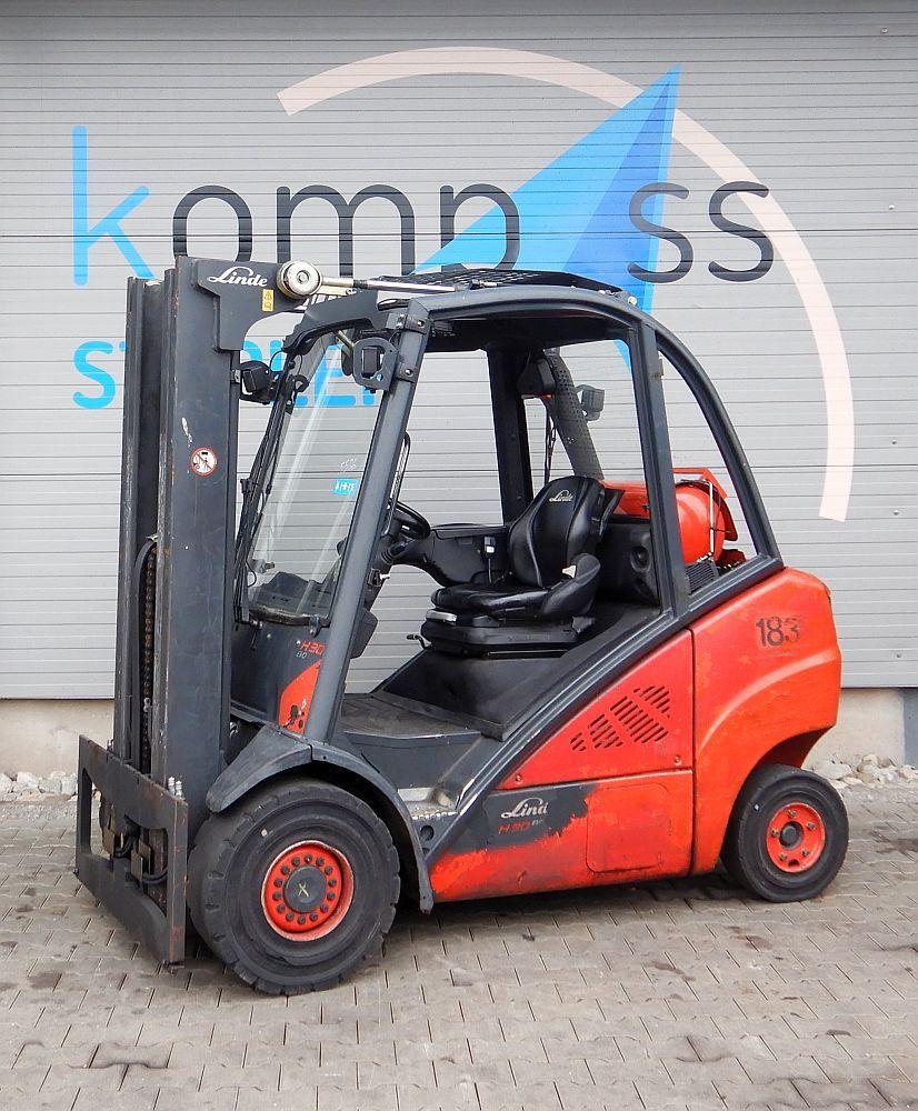 Linde H 30 T/393 LPG Forklifts www.kompass-stapler.de