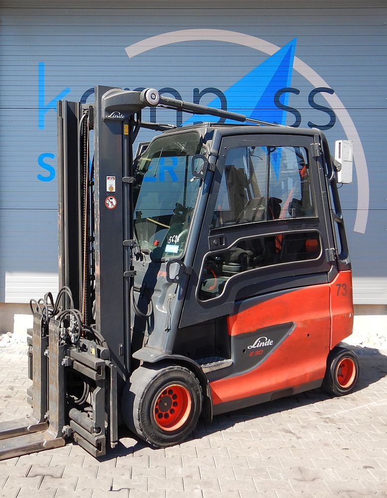 Linde E 30/600 HL/387 Electric 4-wheel forklift www.kompass-stapler.de