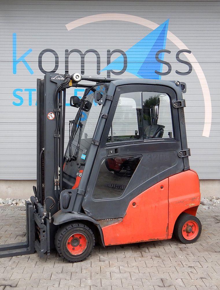 Linde H 18 D/391 Diesel www.kompass-stapler.de