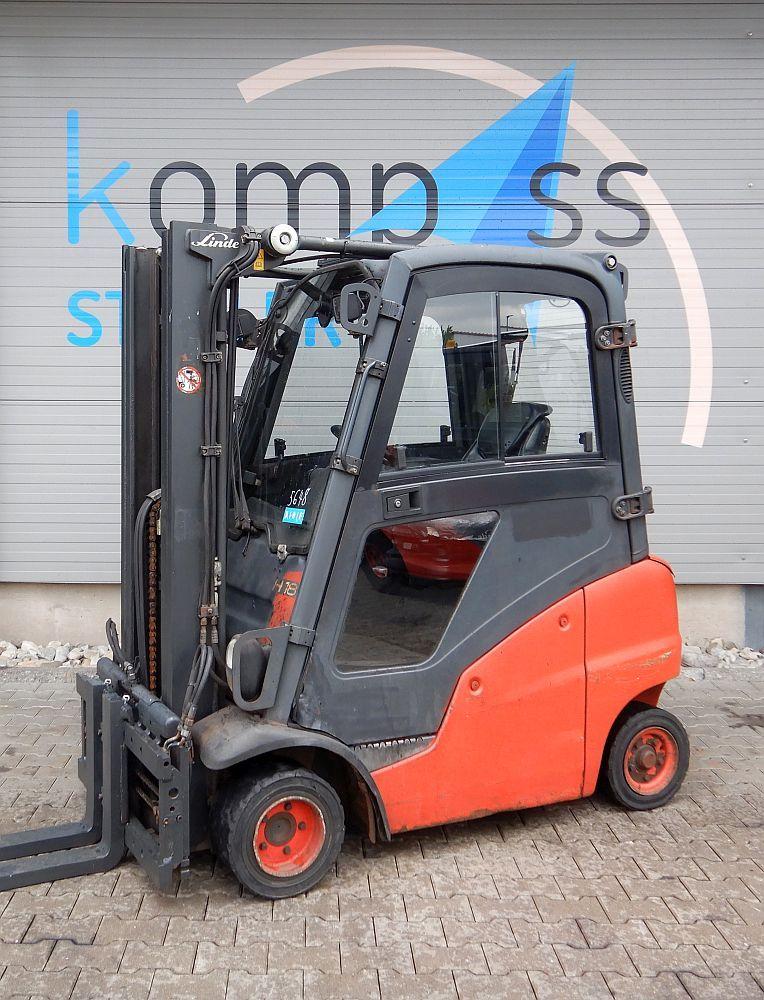 Linde H 18 D/391 Diesel Forklift www.kompass-stapler.de