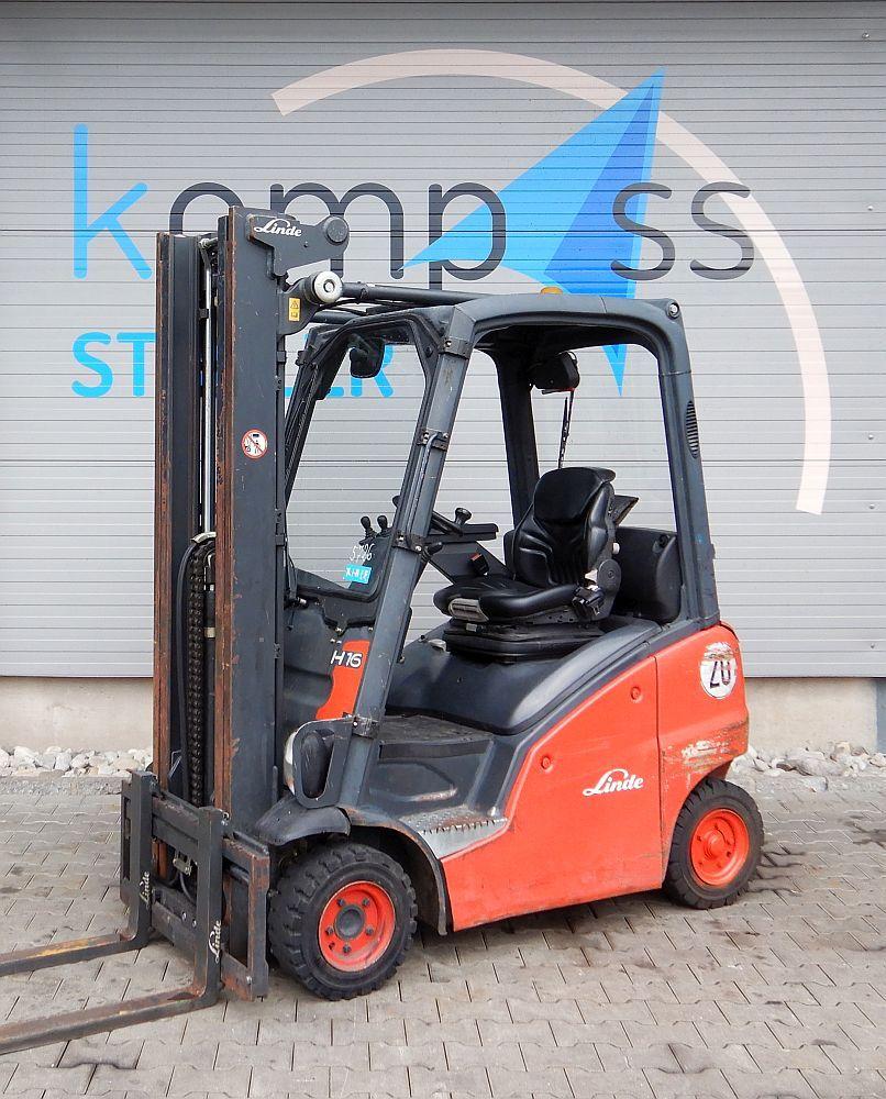 Linde H 16 D/391 Diesel www.kompass-stapler.de