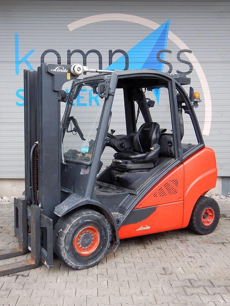 Linde H 30 D/393 Diesel Forklift www.kompass-stapler.de