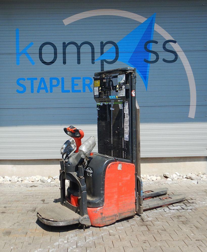 Linde L 14 APi/372 High Lift stacker www.kompass-stapler.de