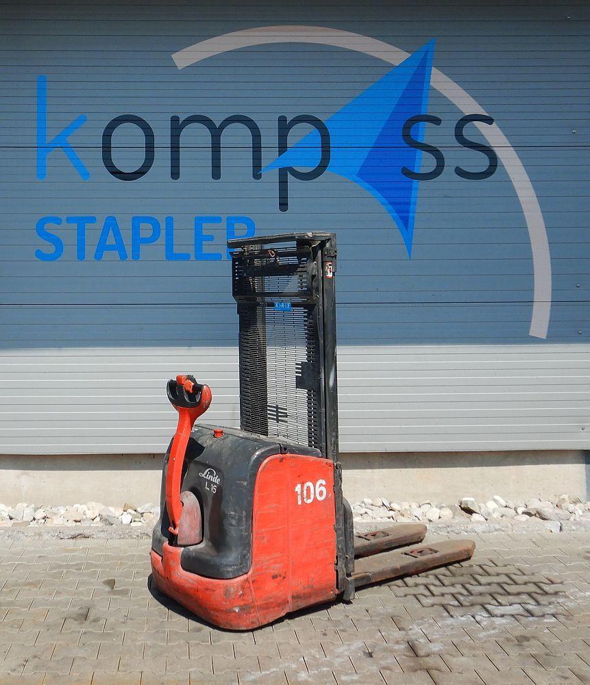 Linde L 16 i/372 High Lift stacker www.kompass-stapler.de